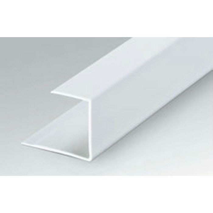 断熱材用ジョイナー コ型 ビニール コ型40 ホワイト 2.73m  35095-1