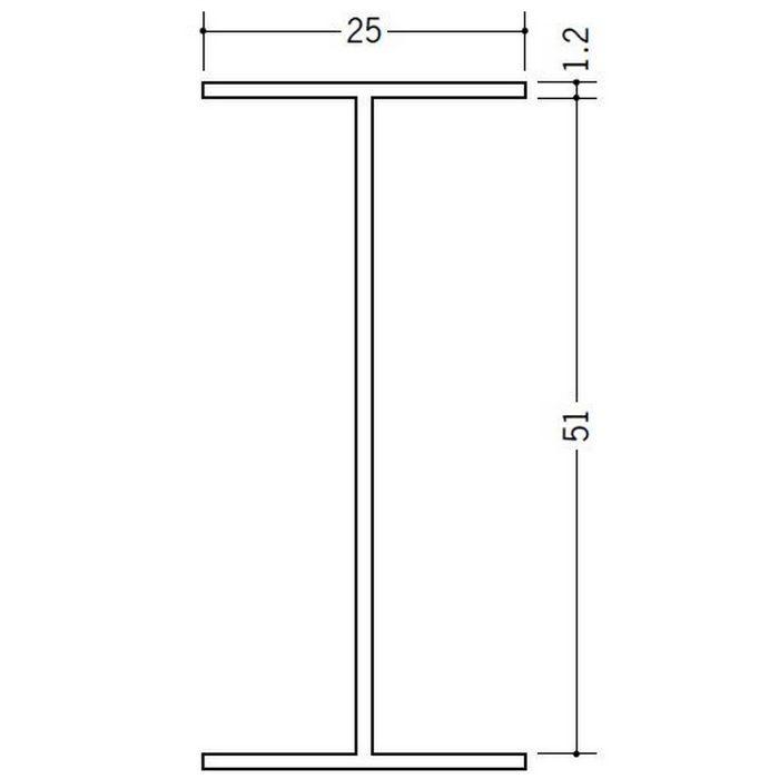 断熱材用ジョイナー H型 ビニール BSH-51 クリーム 2.73m  35126-2