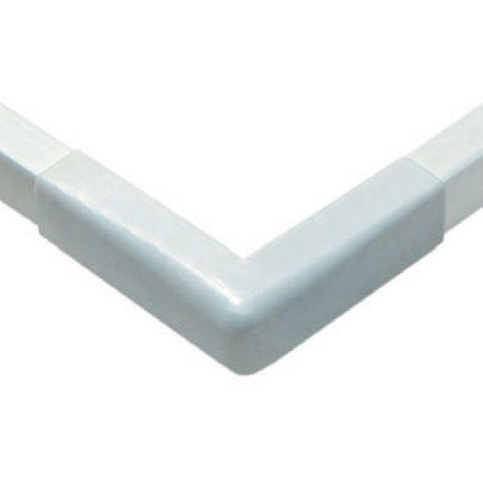 立ち上げ見切 ビニール GC-3.5カラー出隅用カバー アイボリー   79148-2