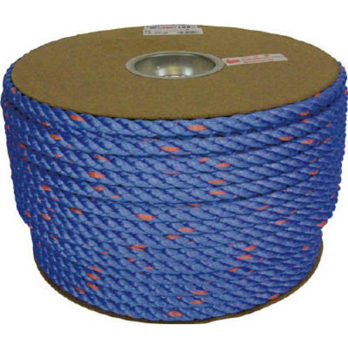 PRVP62 タストンロープ ブルー ドラム巻 12φ×100m 青