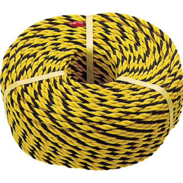 R9100T 標識ロープ 3つ打 線径7.5mmX長さ100m