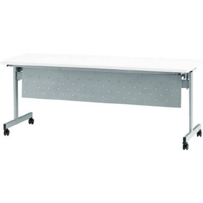 天板跳上式スタックテーブル(パネル付) HSN1845PW