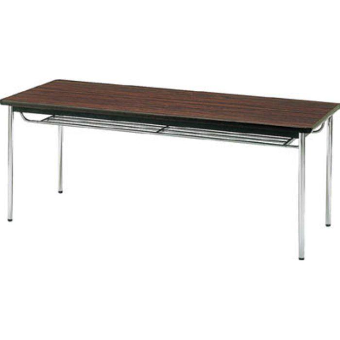 TDS1260T 会議用テーブル 1200X600XH700 丸脚 ローズ