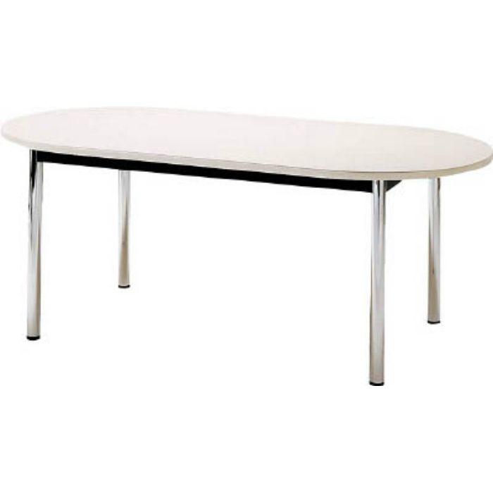 TC1890RW ミーティングテーブル 楕円型 1800×900mm ホワイト