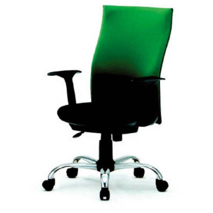 TOFC330A ハイバックオフィスチェアー 肘付 緑