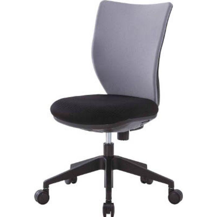 3DA45M0GR 回転椅子3DA グレー 肘なし