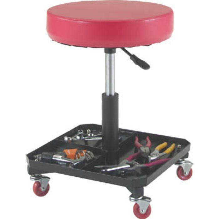 TWCS 工具入れ付作業椅子 Φ370XH440ー555