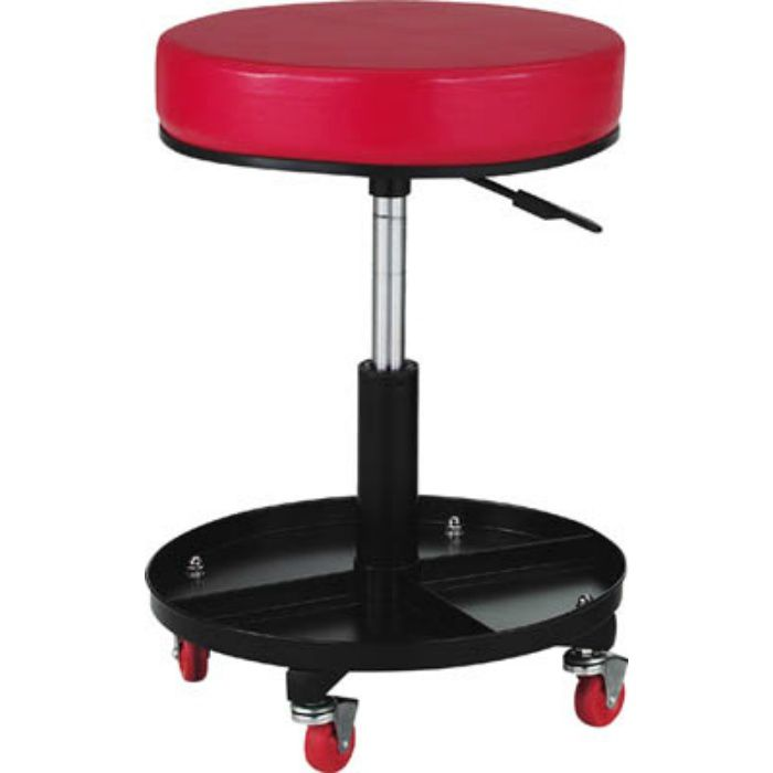 TWCSR 工具入れ付作業椅子 Φ370XH440ー555